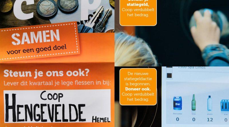 Statiegeldactie Dierenambulance Hof van Twente!
